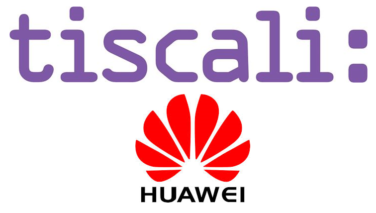 Tiscali: firma accordo con Huawei per fornitura di apparati di rete