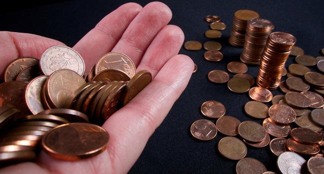 Italia, addio alle monetine da 1 e 2 centesimi
