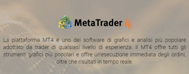 La presentazione di MetaTrader 4, disponibile su 24option