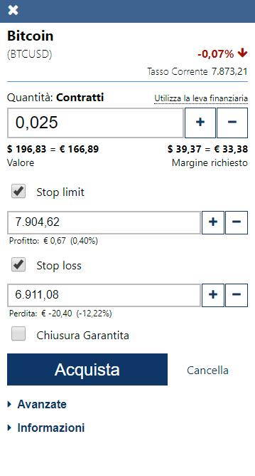 Ordini di trading automatico