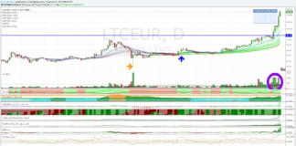 Cambio Litecoin Euro, +55% in 24 ore