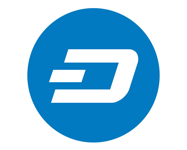 Il simbolo della criptovaluta DASH