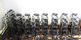 Una stanza adibita al mining di Bitcoin