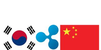 Ripple tra le dichiarazioni di Sud Corea e Cina