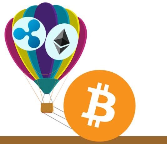 Ripple e Ethereum ancora frenati dal Bitcoin