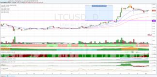 Cambio Litecoin Dollaro, la fase di correzione sta per terminare?