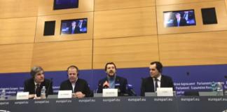 Salvini parla di Flat Tax al Parlamento Europeo