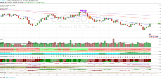 Cambio Euro Dollaro, analisi tecnica al 22 gennaio 2019